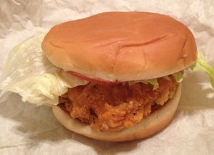 Wendys Spicy Chicken